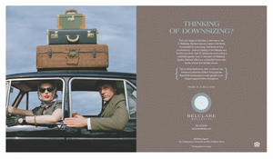 A 2015 RDA winner from the East: Belclare Ad Campaign // Adams Design, Boston; www.adamsdesignboston.com: Brenda Adams (creative director/art director/designer), Rodney Smith (photographer), Shelby Hypes (writer); The Noanett Group (client)