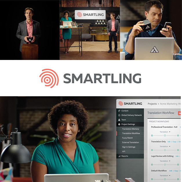 Smartling brand launch by Studio Science, founded by Kristian Andersen