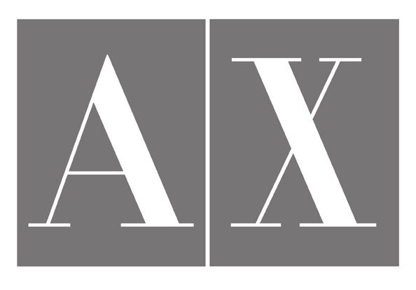 identity for Armani Exchange (2008)