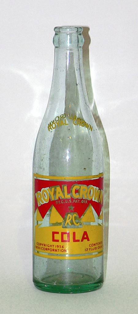 Royal Crown Cola bottle