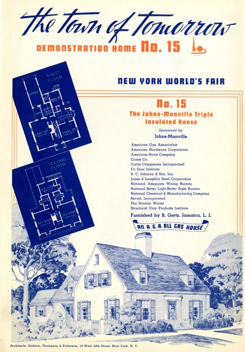 The Town of Tomorrow, 1939 World's Fair