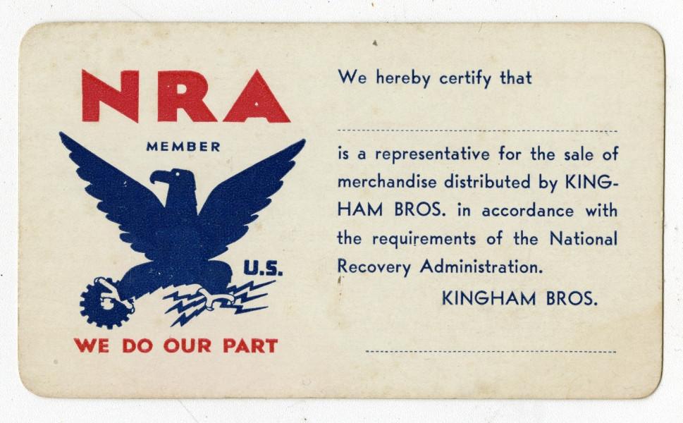 NRA Membership Card