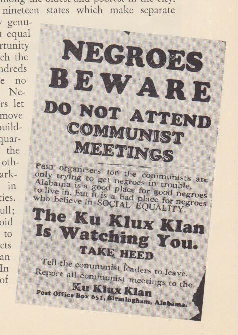 negroes beware