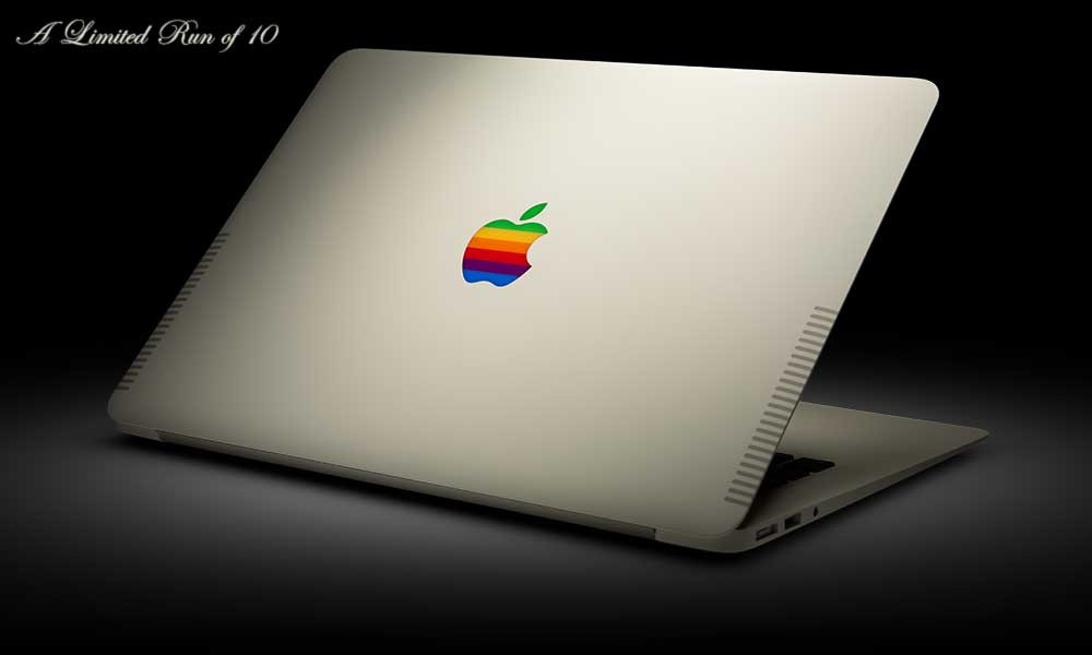 For a cool $3,499, you can buy a limited-edition MacBook Air in Retro beige. Via Brand New: http://bit.ly/1A94uTL
