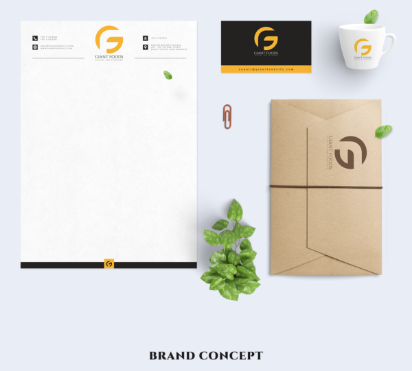 Letterhead examples: Giant Food