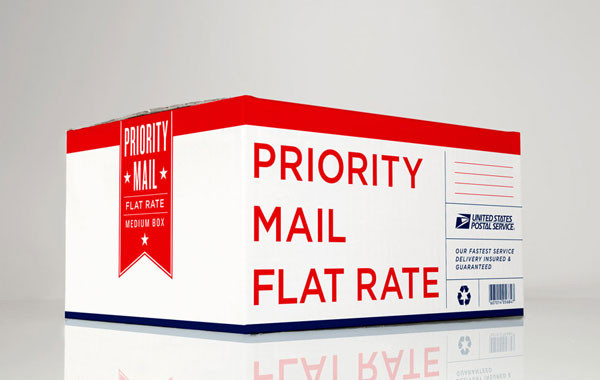 Grand Army's redesign of the Priority Mail shipping box