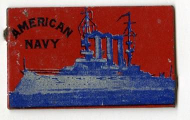 American Navy Tobacco Tag