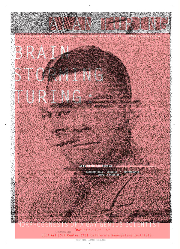 Lucas's posters celebrating the centennial of Alan Turing's birth