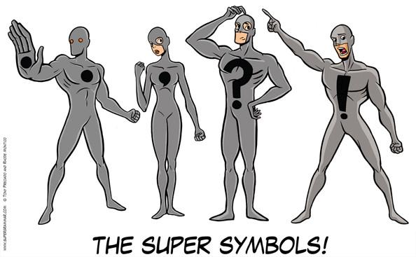 The super symbols!