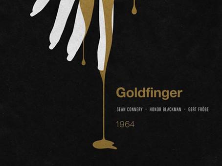 Branding Bond: 24 Minimalist James Bond Posters