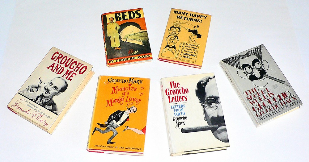 Books by Groucho Marx