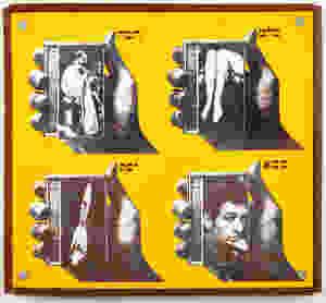 Wallace Berman: Untitled (Sound Series #3), 1967-68.