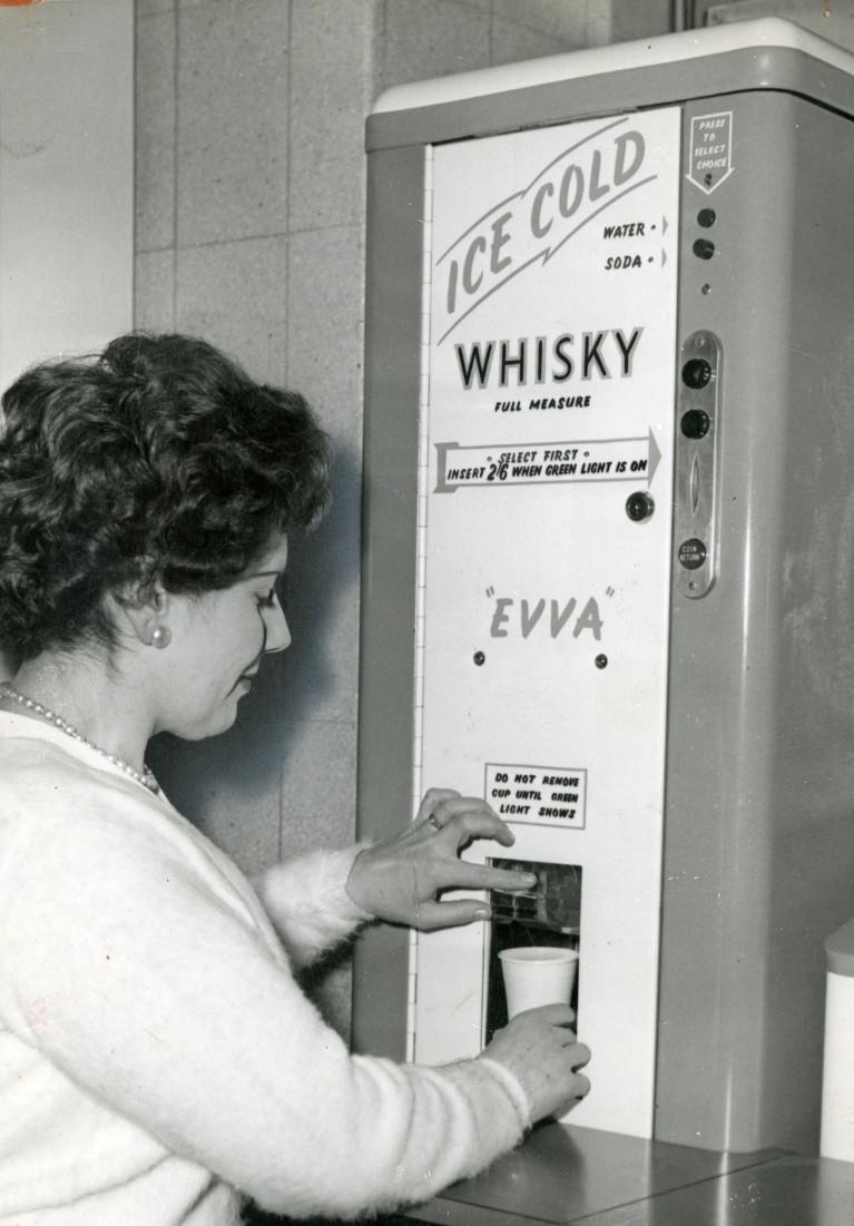 whisky vending machines