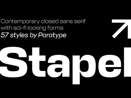Type Tuesday: Stapel