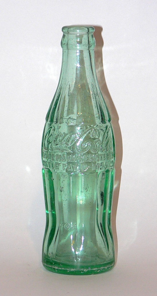 """bottle embossed with patent number """"D-105529"""""""