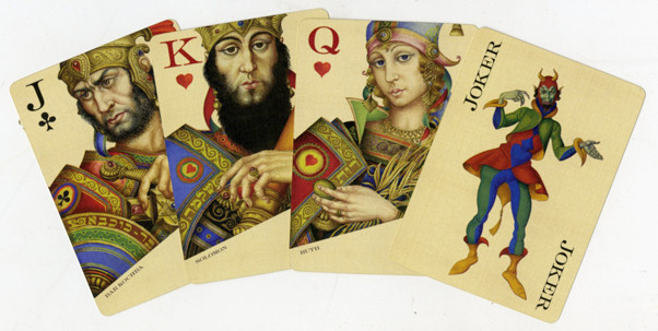 Royal family cards