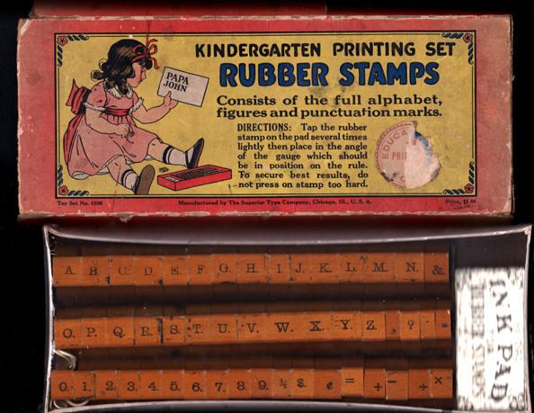 Papa John stamp set