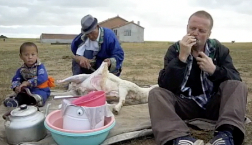 mongolians eat