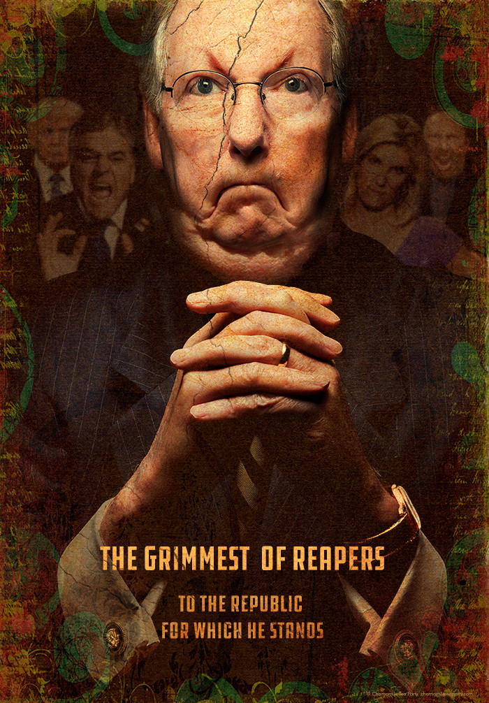 The grimmest of reapers Poster