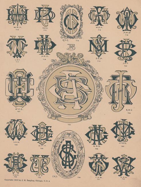 monograms 7