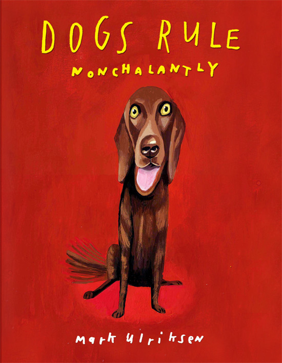 Dog book jacket
