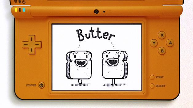 Nintendo Sandwich Twins work by Tim Ruffle of Aardman Animations