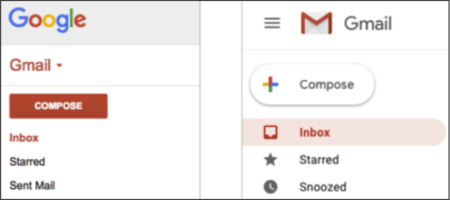 The new Gmail design functionality has caused some controversy.