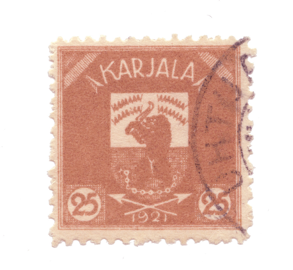 forgotten nations and their postage stamp design - karjala
