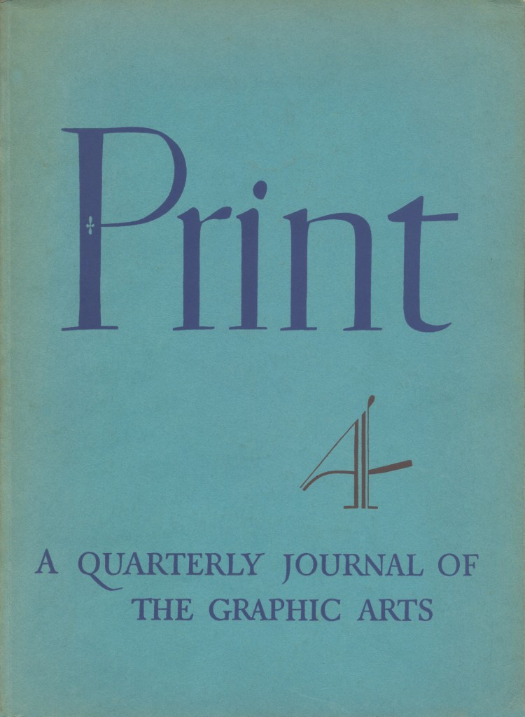 Volume 1, Number 4. Cover by W. A. Dwiggins.