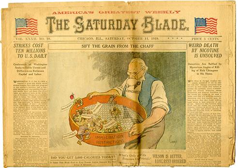 The Saturday Blade