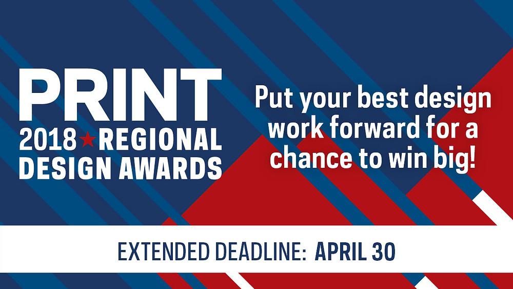 PRINT 2018 Regional design awards