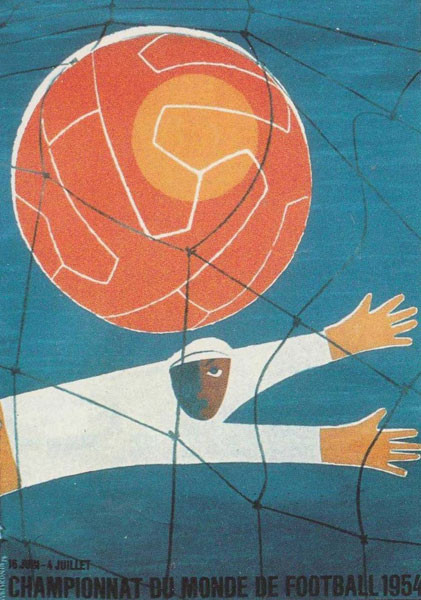 1954 World Cup Poster;
