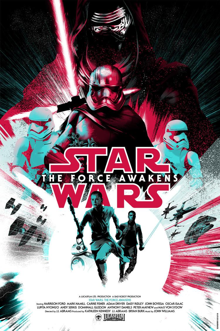 'Star Wars: The Force Awakens' by Matt Taylor for Mondo