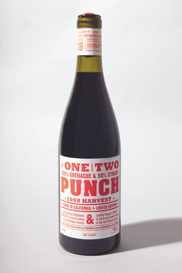 One Two Punch Wine