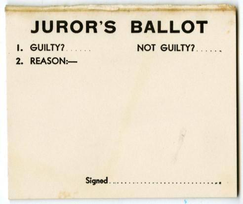 The Jury Box game