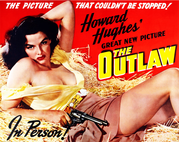 Jane Russell at  The Outlaw