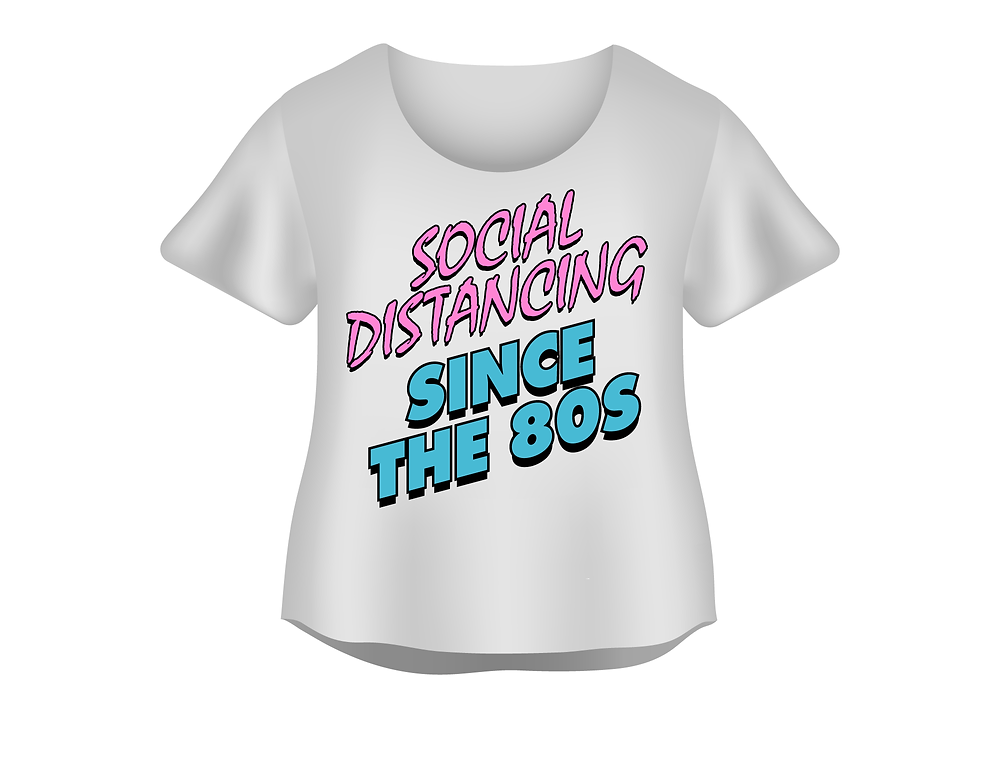 Social distancing since the 80's