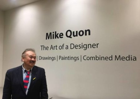 Mike Quon has work that spans decades and disciplines.