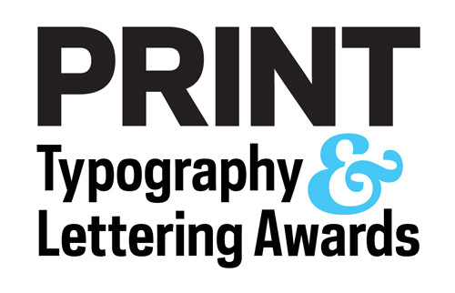 PRINT typography lettering awards