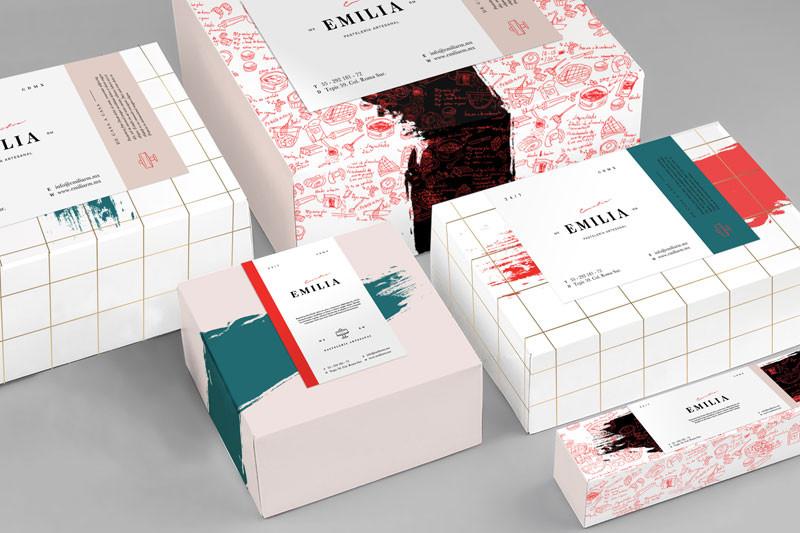 beautiful branding by Designer of the Week Karla Heredia Martínez