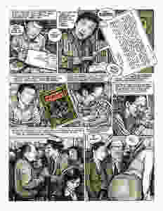 Drew Friedman's critical depiction of Robert Crumb adds a valuable dimension.
