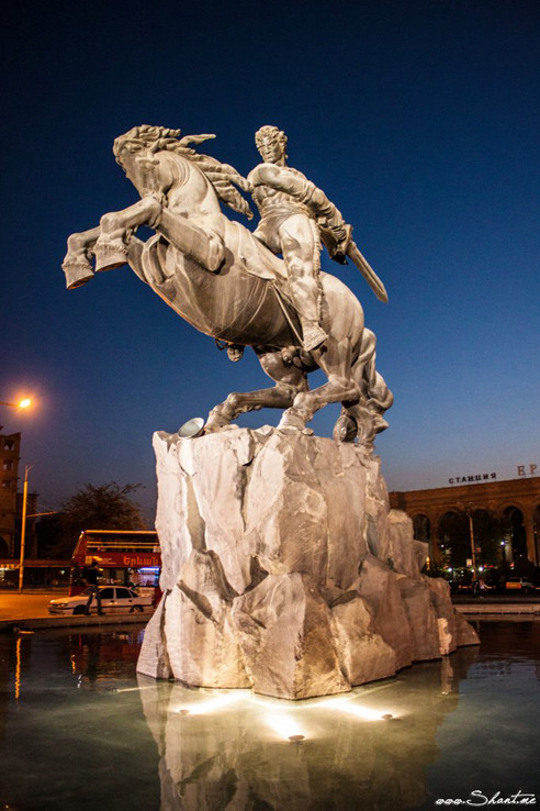 David of Sassoun_in Yerevan