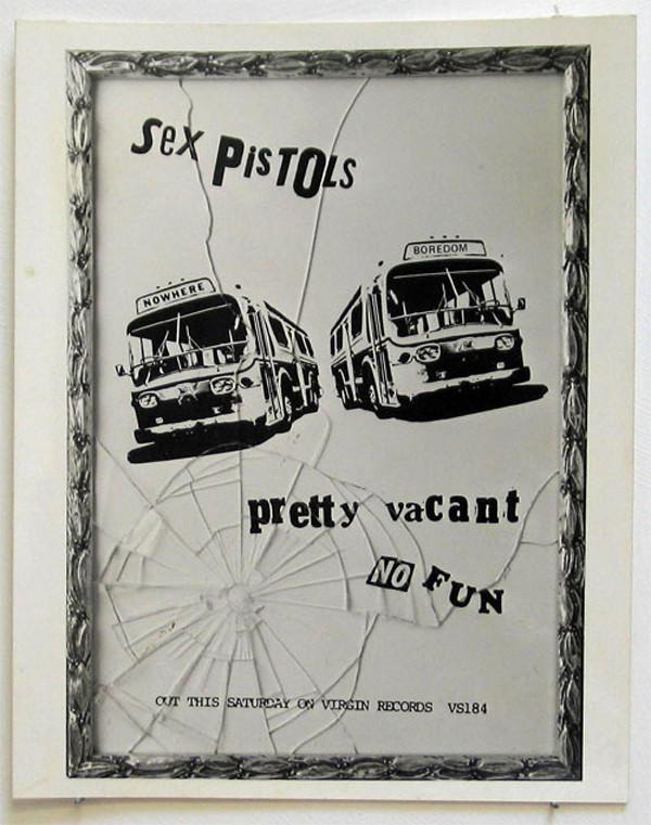 Sex Pistols Pretty Vacant album cover