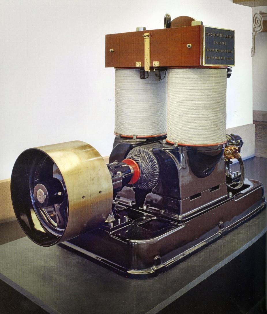 Generator, Edison Bipolar Dynamo, Type S