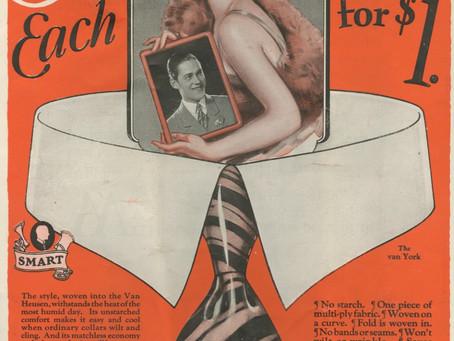 When Van Heusen Made an Economical Collar