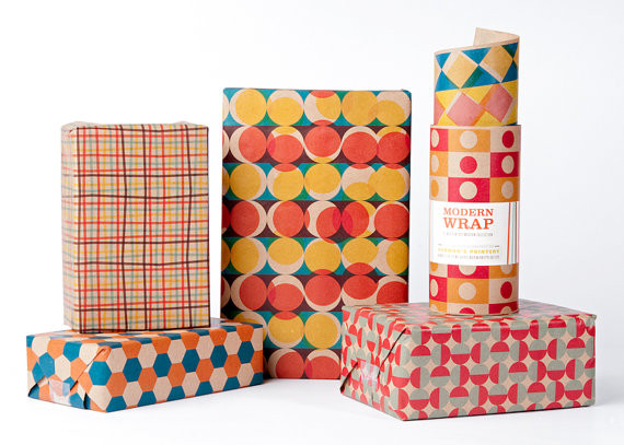 Pattern design wrapping paper