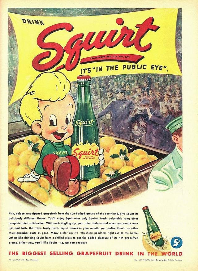 1940s Squirt ad