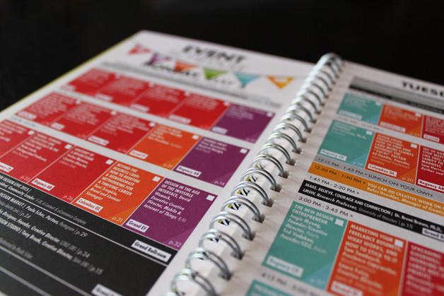 HOWLive2015-schedule-publication-design