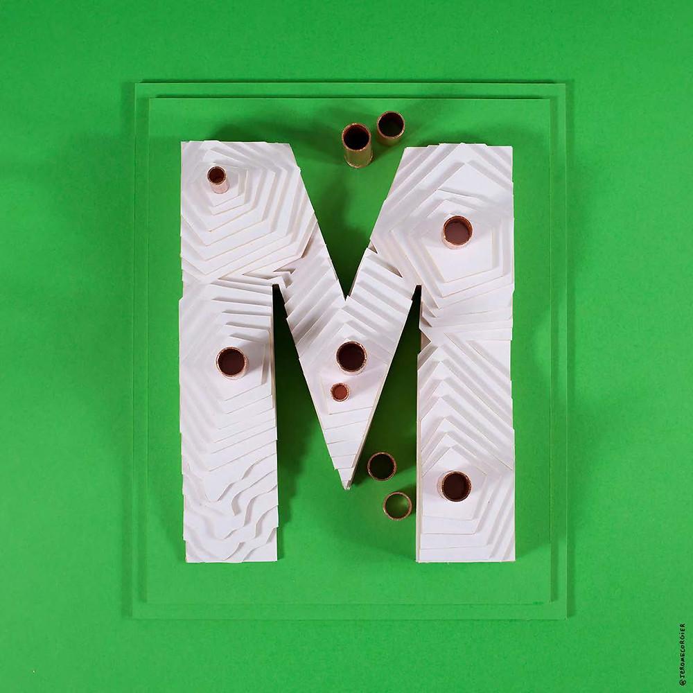 """Jerome Corgier """"ArchiLetters"""" - M"""