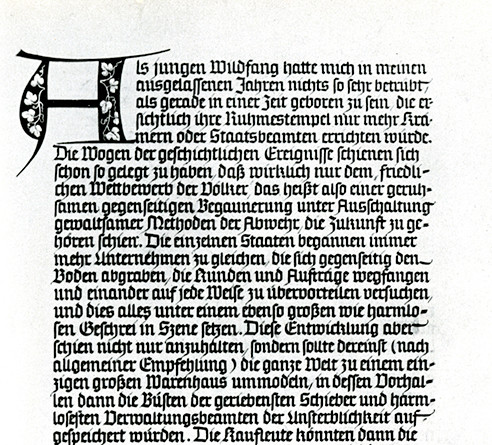 parchment of Mein Kampf